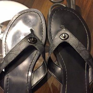 Coach Shoes - Coach thong sandals